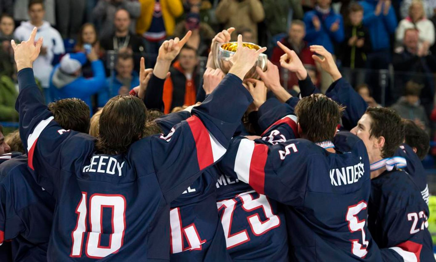 Athlete Development Leads to Gold Medal at the IIHF World Championship