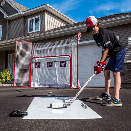 HockeyShot Goal & Backstop Combo